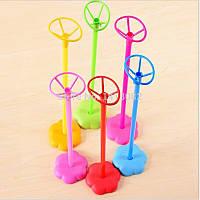 Настольные палочки-держатели для воздушных шаров с основой Цветок.