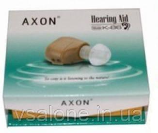 Внутрішньовушний слуховий апарат Axon K-86