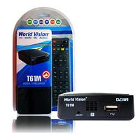 Ресивер DVB-T2 WORLD VISION T61M