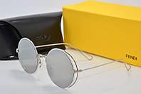 Женские очки Fendi 58069 зеркало