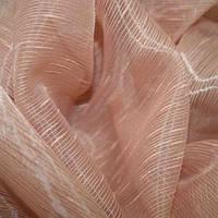 Купить ткань для тюли roca розово-бежевая