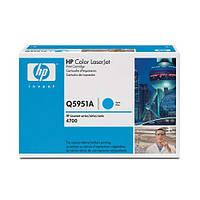Q5951A (643A) cyan картридж для HP для CLJ 4700