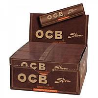 Бумага OCB +Filters Virgin Slim Unbleached 110mm.