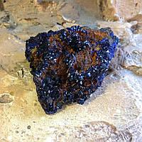 Азурит кристалл, коллекционный азурит, уральские самоцветы