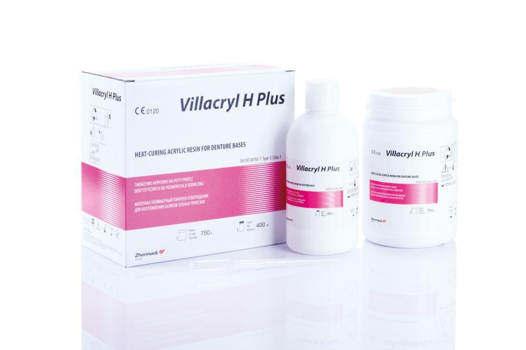Акриловая, зуботехническая пластмасса VILLACRYL H Plus (Вилакрил плюс) 750гр+400мл