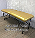 Косметологічна кушетка для нарощування вій LASH STAR MINI - золото, фото 3