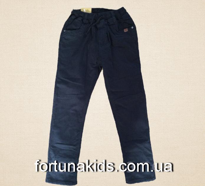 Котонновые брюки для мальчиков S&D 4-12 лет