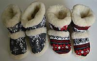 Чуні орнаментні із овечої шерсті .