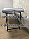 Косметологическая кушетка для наращивания ресниц LASH STAR MINI - перламутровое серебро, фото 5
