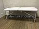 Косметологическая кушетка для наращивания ресниц LASH STAR MINI - белый цвет, фото 4