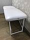 Косметологическая кушетка для наращивания ресниц LASH STAR MINI - белый цвет, фото 5