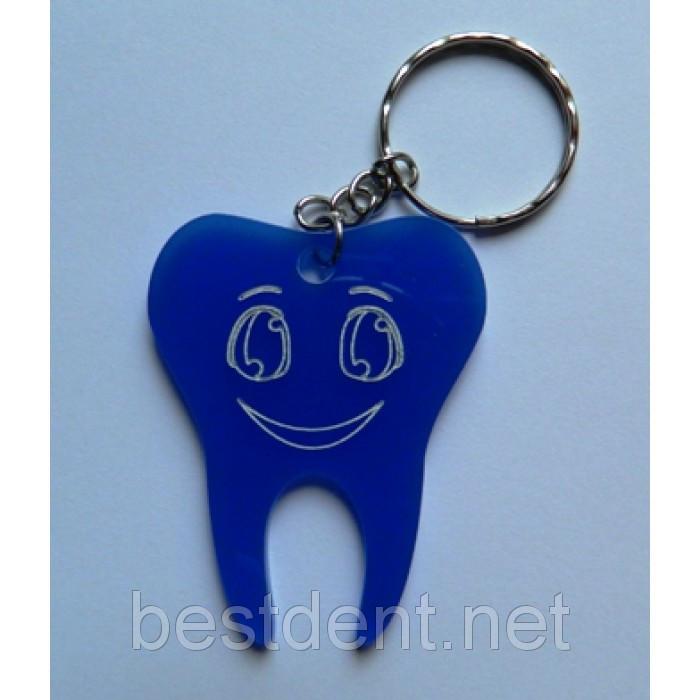 Брелок Зуб (пластиковый)
