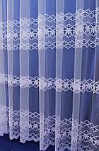 Тюль фатиновая с нежной вышивкой №303 оптом, фото 3