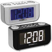 Годинник з радіо і будильником FIRST FA-2420-1-BU