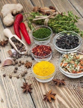 Миксы специй и приправ для разных блюд