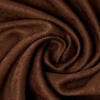 Ткань для штор Блэкаут софт Шоколадный