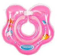 """Круг на шею для купания девочек """"Розовый"""""""