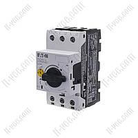 Автоматический выключатель защиты двигателя PKZM0-1.6 EATON MOELLER