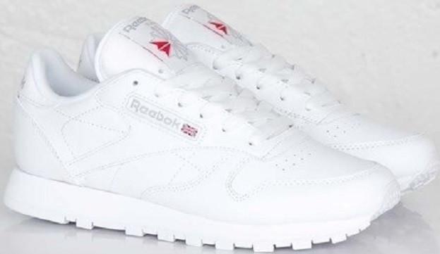 246f33d3de9d Кроссовки Оригинальные Reebok Classic Leather All White от