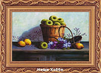 "Набор алмазная техника (холст) 5D-041 ""Яблоки в корзине"" LasKo"