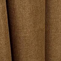 Ткань для штор Однотонная мешковина Коричневый