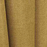 Ткань для штор Однотонная мешковина Золото