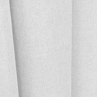 Ткань для штор Однотонная мешковина Белый
