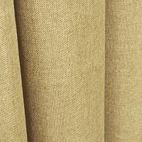 Ткань для штор Однотонная мешковина Пшеничный