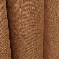 Ткань для штор Однотонная мешковина Светло-коричневый
