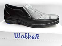 Мужские кожаные туфли Walker classic style