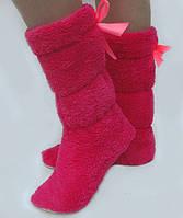 Махровые домашние женские сапожки- теплый подарок близким к Новому году!!