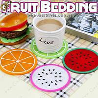 """Подставки под чашку - """"Fruit Bedding"""" - 4 шт."""