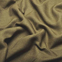Ткань для штор Однотонная мешковина блэкаут Капучино