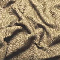 Ткань для штор Однотонная мешковина блэкаут Бежевый