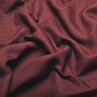Ткань для штор Однотонная мешковина блэкаут Марсала