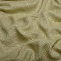 Ткань для штор Однотонная мешковина блэкаут Светло-бежевый