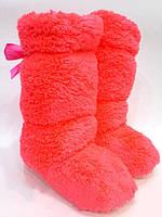 Махровые домашние женские сапожки-теплый подарок близким!!