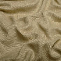 Ткань для штор Однотонная мешковина блэкаут Пшеничный