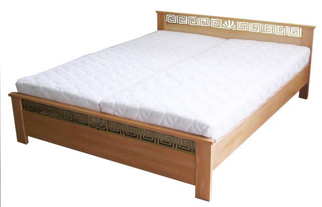 Кровать Афина Массив 102 (Натуральный бук)