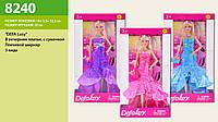 Кукла Defa, с сумочкой, 3 цвета, в кор. 33*18*5,5см (24 шт.)