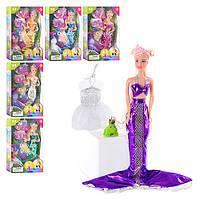 Кукла Defa, русалка, с одеждой, расческой, зеркалом, в кор. 32*20*6см