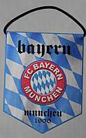 Вымпел  футбольный с изображением герба FC Baern