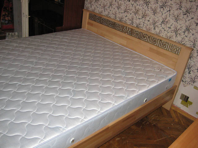 Кровать Афина Щит 102 (Натуральный бук)