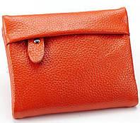 Кошелёк женский из натуральной кожи Perfette Faina, оранжевый