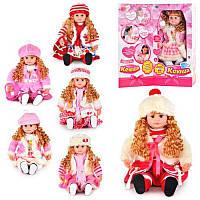 Говорящая кукла Ксюша М 5330, интерактивная кукла Ксюша 5330
