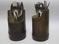 Подставка для приборов из бамбука