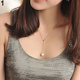Цепочка женская на шею с подвеской, фото 2