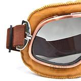 Ретро мото очки для мотоцикла, фото 7
