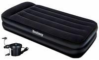 Надувной матрас с электро насосом Bestway 67381 Comfort Quest 203х102х46
