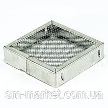 Колпачок для матки из оцинкованной стали квадрат 90 мм